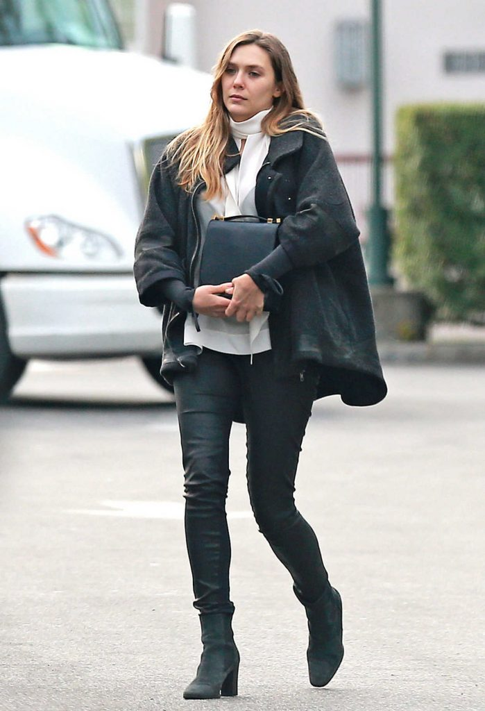 Elizabeth Olsen Was Sen Out in LA 10/01/2017-1