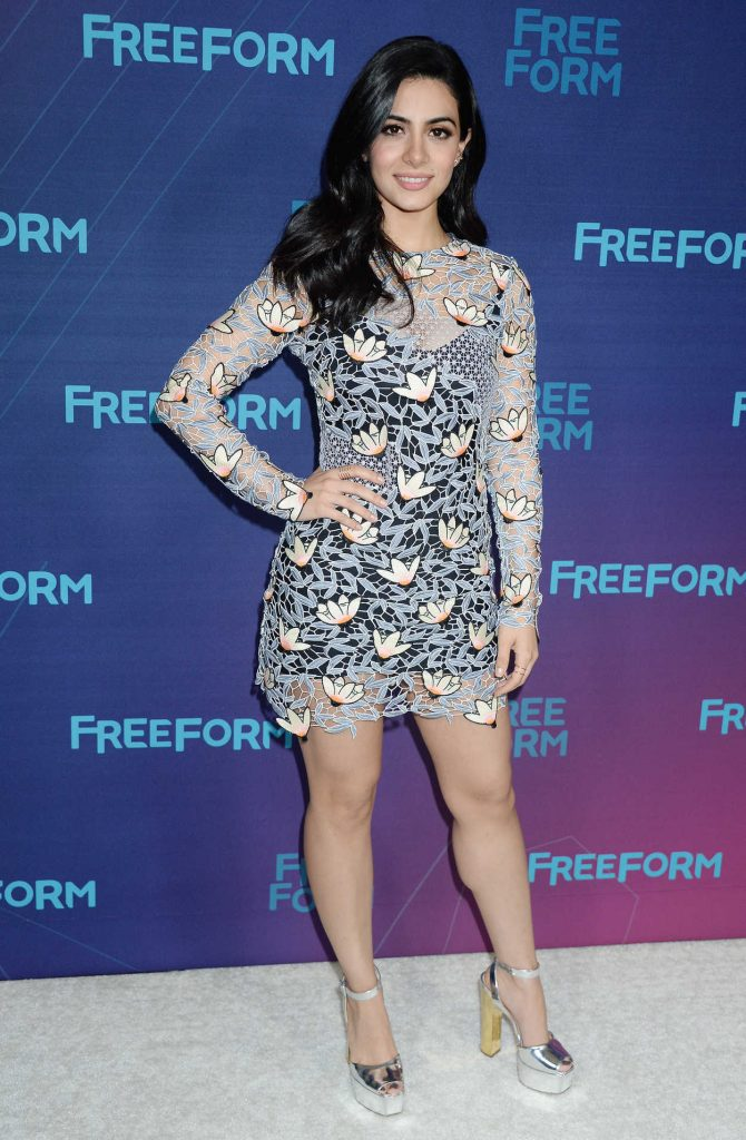 Emeraude Toubia at the Disney ABC Television Hosts TCA Winter Press Tour in Pasadena 10/01/2017-1