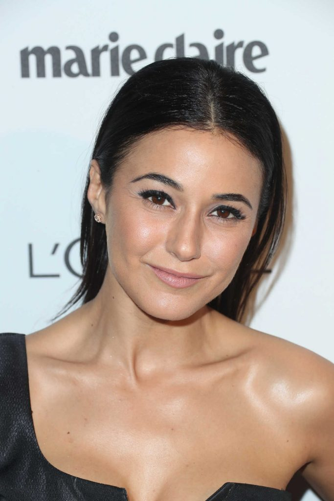 Emmanuelle Chriqui at the Marie Claire Image Maker Awards in Los Angeles 10/01/2017-3