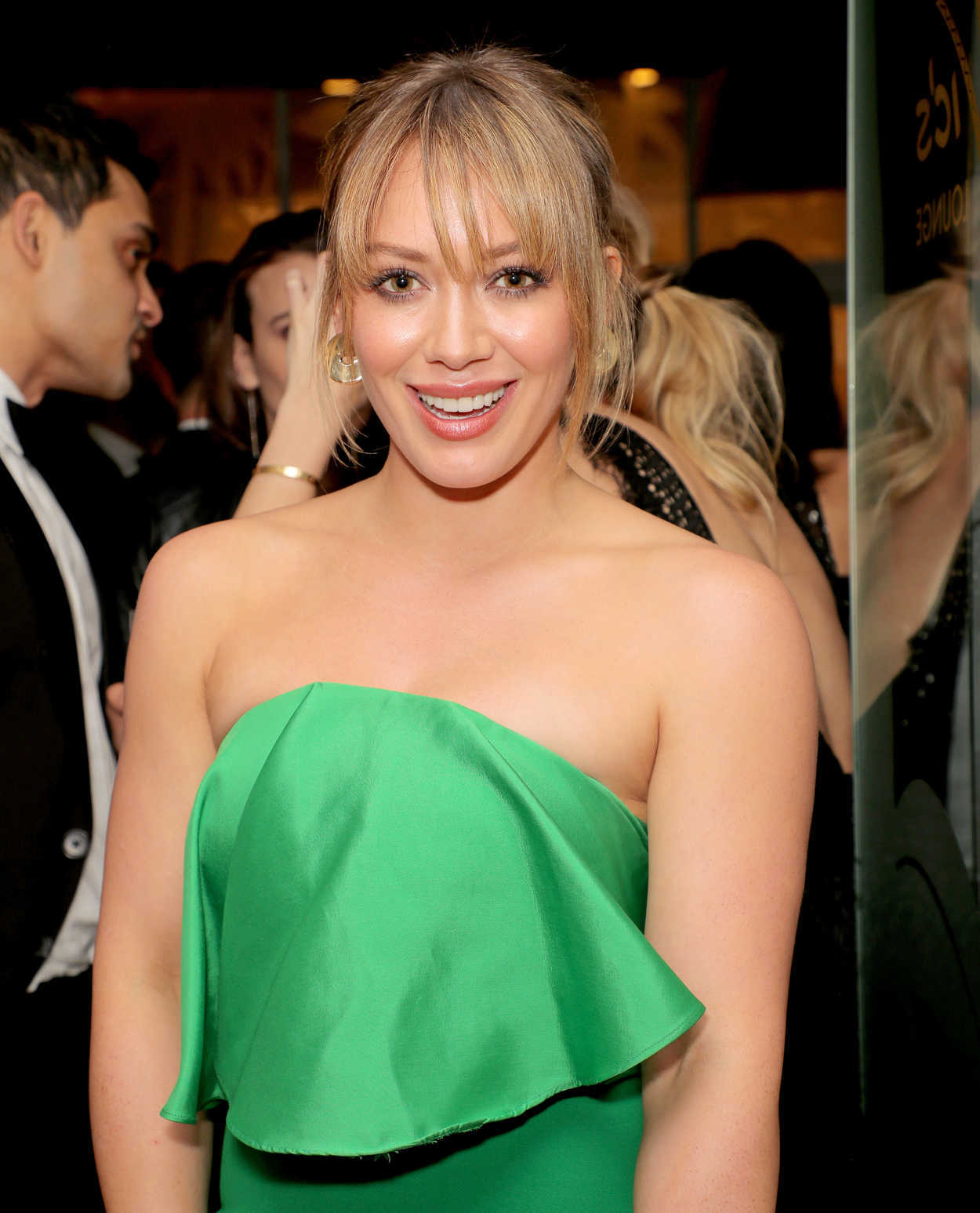 Hilary Duff at the 18t...