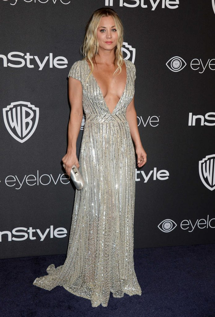 Kaley Cuoco at the 18th Annual InStyle Post-Golden Globes Party in Beverly Hills 01/08/2017-1