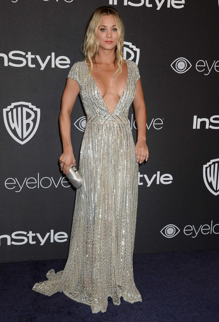 Kaley Cuoco at the 18th Annual InStyle Post-Golden Globes Party in Beverly Hills 01/08/2017-2