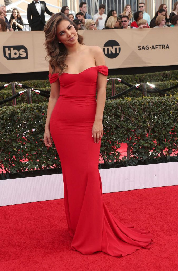 Liz Hernandez at the 23rd Annual Screen Actors Guild Awards in Los Angeles 01/29/2017-1