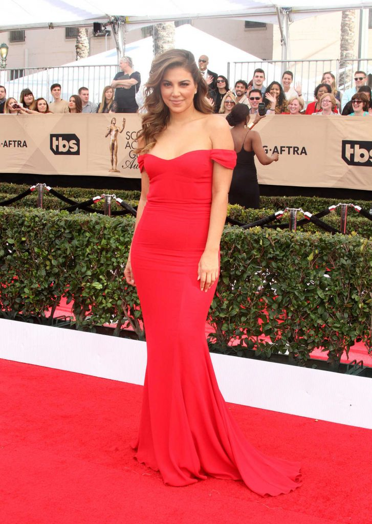 Liz Hernandez at the 23rd Annual Screen Actors Guild Awards in Los Angeles 01/29/2017-2