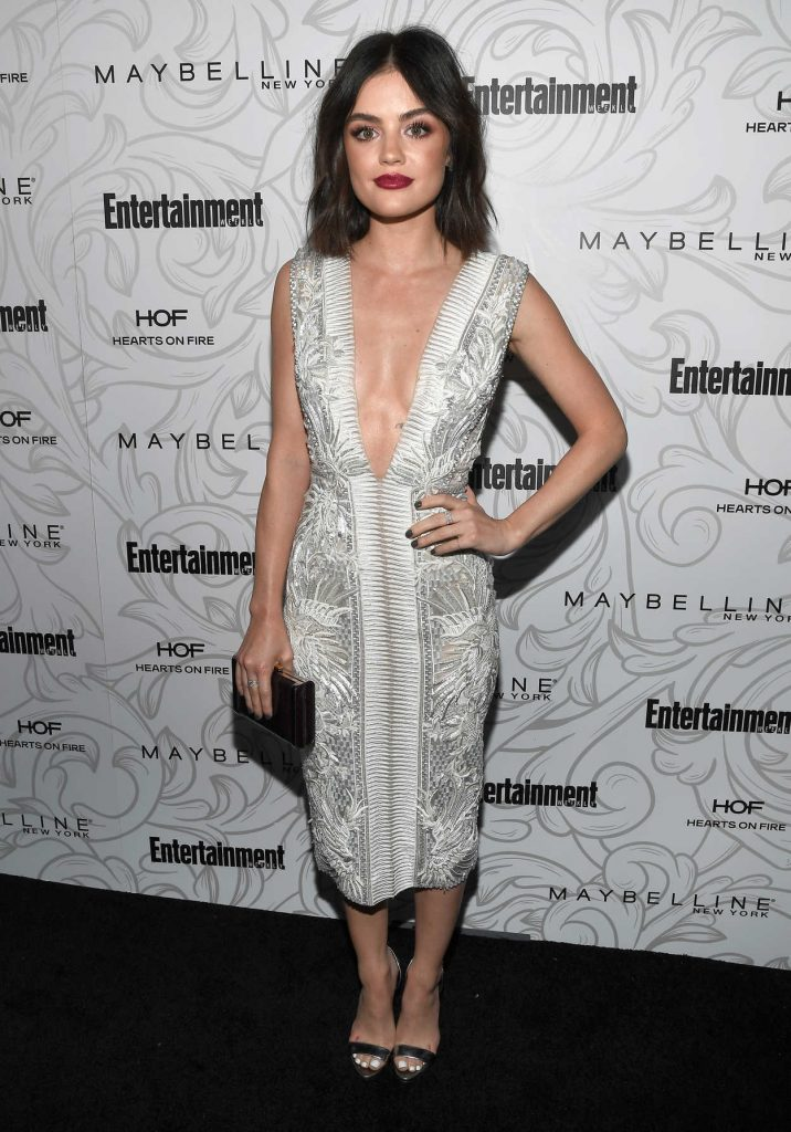 Lucy Hale at the Entertainment Weekly Celebration of SAG Award Nominees in Los Angeles 01/28/2017-1