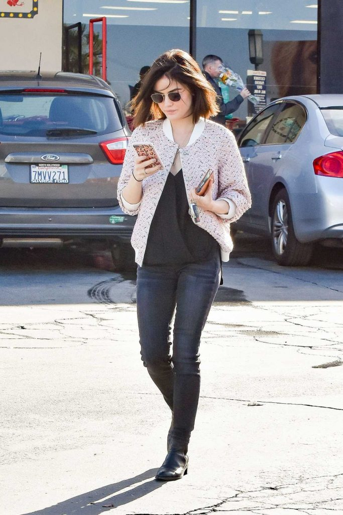 Lucy Hale Was Seen Out in LA 01/11/2017-1