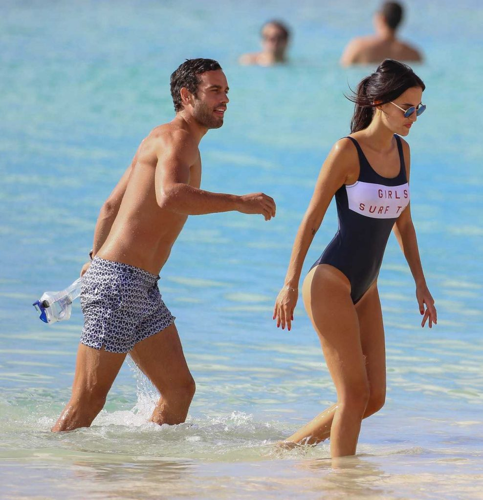 Lucy Watson Was Spotted at the Beach in Barbados 01/05/2017-4
