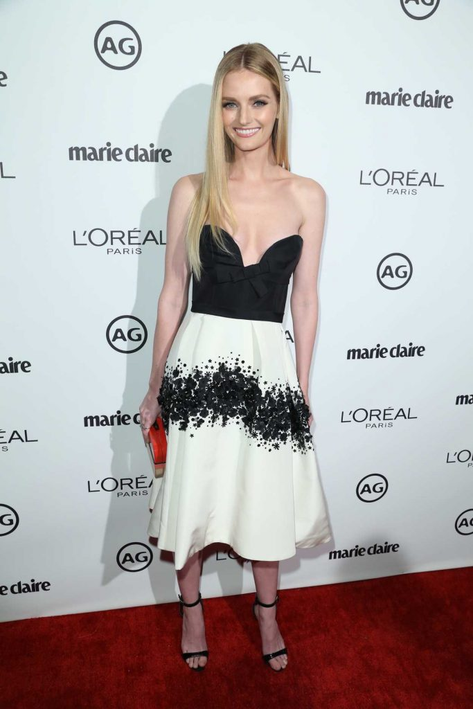 Lydia Hearst at the Marie Claire Image Maker Awards in Los Angeles 10/01/2017-2