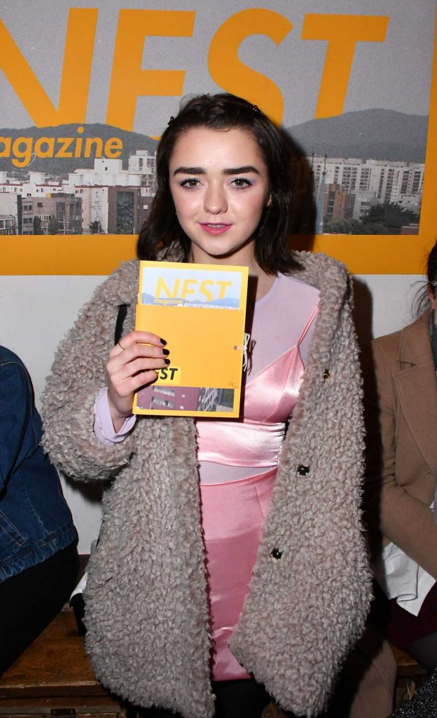Maisie Williams at the Nest Magazine Launch Party in London 01/19/2017-2