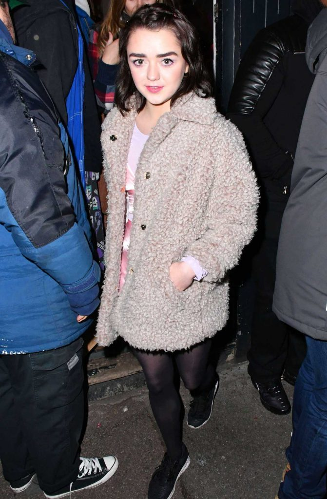 Maisie Williams at the Nest Magazine Launch Party in London 01/19/2017-4