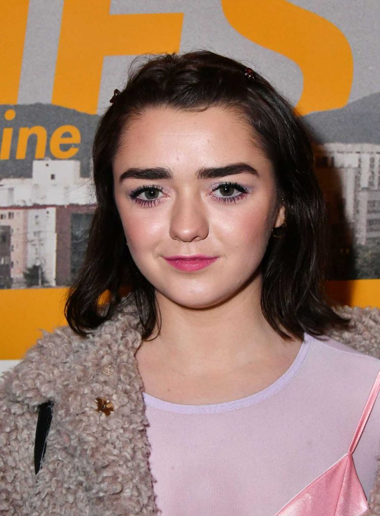 Maisie Williams at the Nest Magazine Launch Party in London 01/19/2017-5