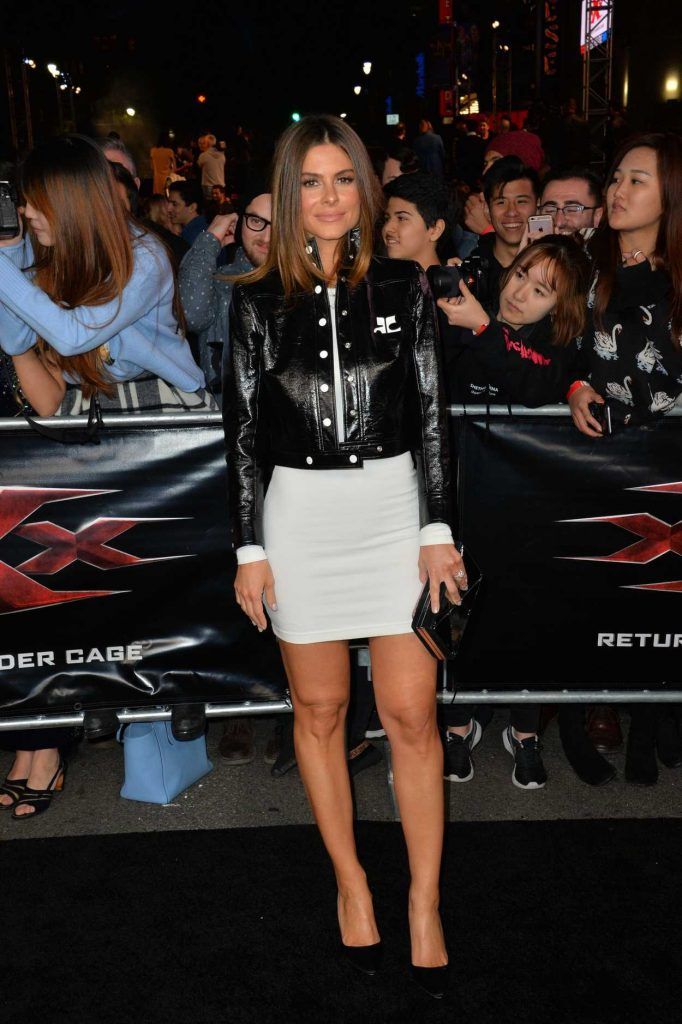 Maria Menounos at the XXX: Return of Xander Cage Premiere at the TCL Chinese Theatre in Los Angeles 01/19/2017-2