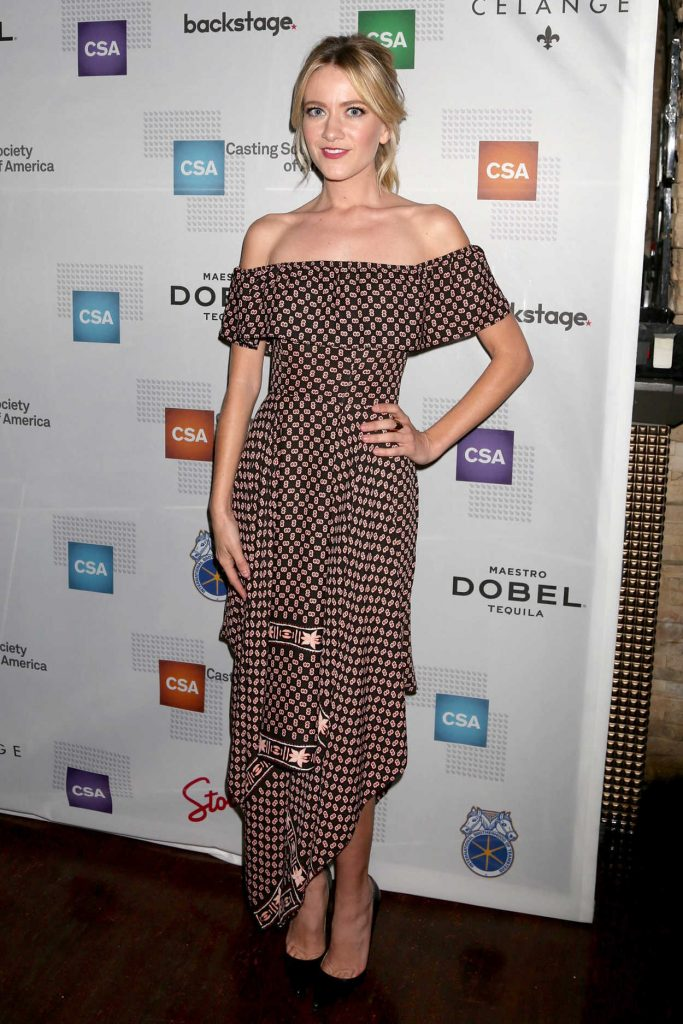 Meredith Hagner at the 32nd Annual Artios Awards in Los Angeles 01/19/2017-1