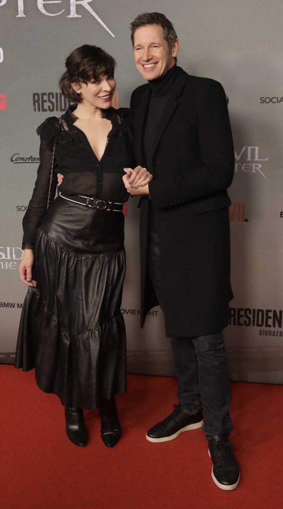 Milla Jovovich at the Resident Evil: The Final Chapter Premiere in Berlin 01/19/2017-3