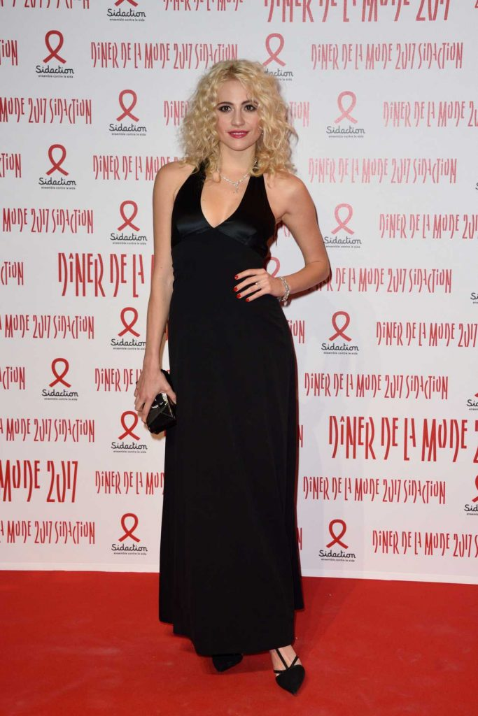Pixie Lott at the Sidaction Gala Dinner in Paris 01/26/2017-1