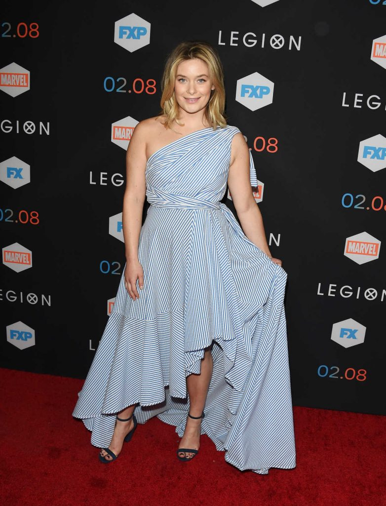 Rachel Keller at the Legion TV Series Premiere in Los Angeles 01/26/2017-2