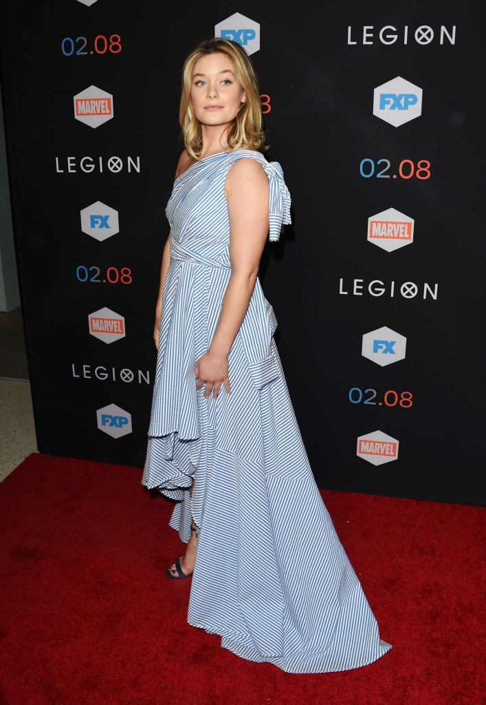 Rachel Keller at the Legion TV Series Premiere in Los Angeles 01/26/2017-3