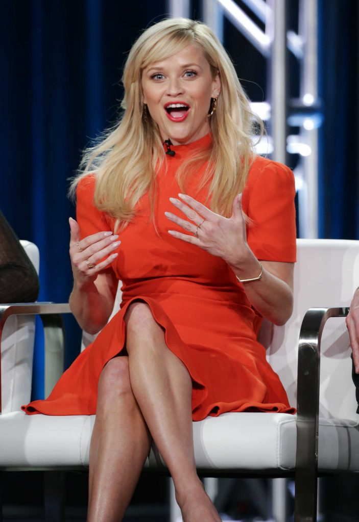 Reese Witherspoon at the HBO's Big Little Lies Panel During TCA Winter Press Tour in Los Angeles 01/14/2017-2