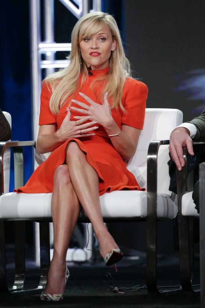 Reese Witherspoon at the HBO's Big Little Lies Panel During TCA Winter Press Tour in Los Angeles 01/14/2017-3