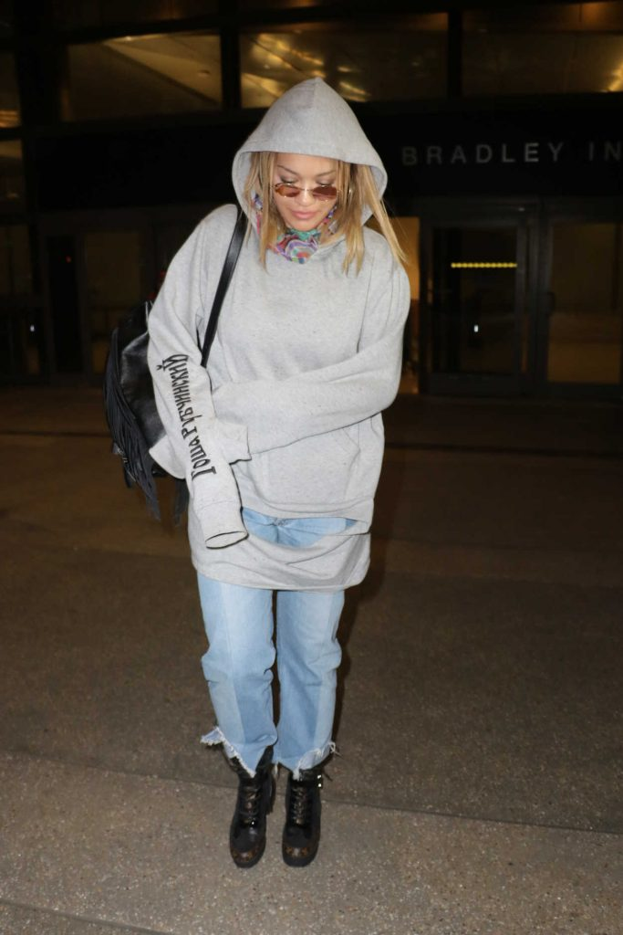 Rita Ora at LAX Airport in Los Angeles 01/26/2017-4