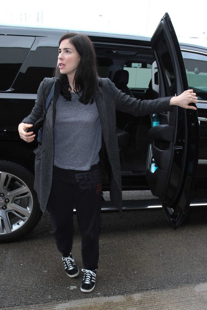 Sarah Silverman Was Seen at LAX Airport in Los Angeles 01/09/2017-3