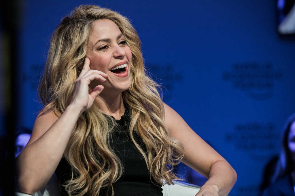 Shakira at the 2017 World Economic Forum in Davos 01/17/2017-4