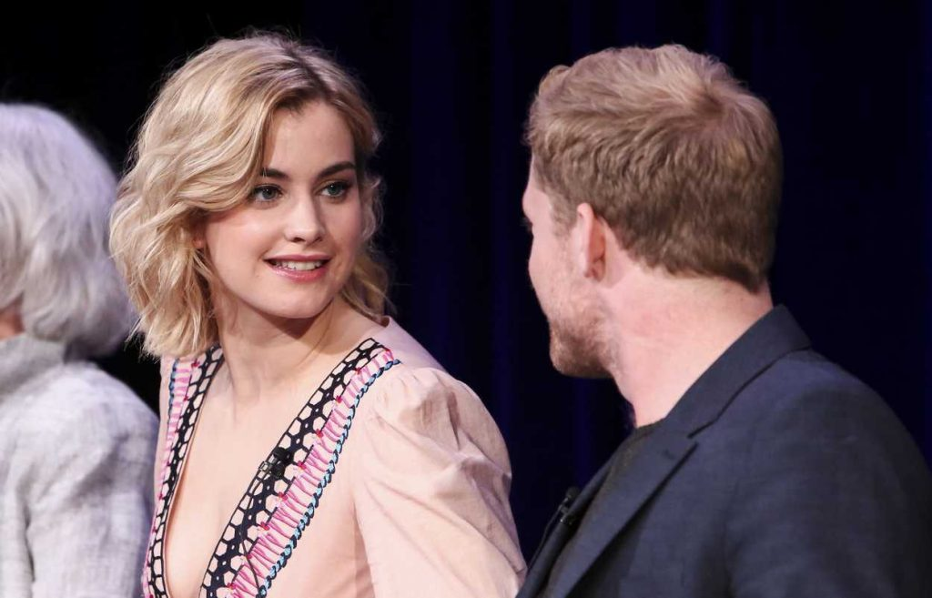 Stefanie Martini at the Prime Suspect: Tennison Panel During TCA Winter Press Tour in Los Angeles 01/15/2017-5