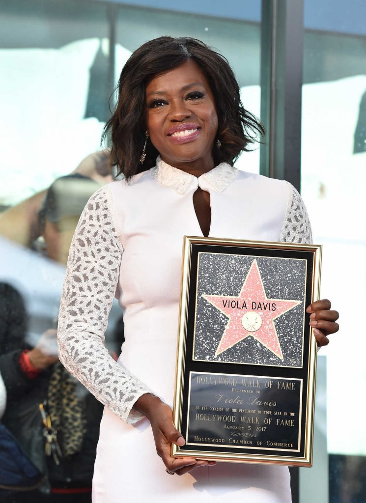 Viola Davis Honored With Star on the Hollywood Walk of Fame in Hollywood 01/05/2017-1