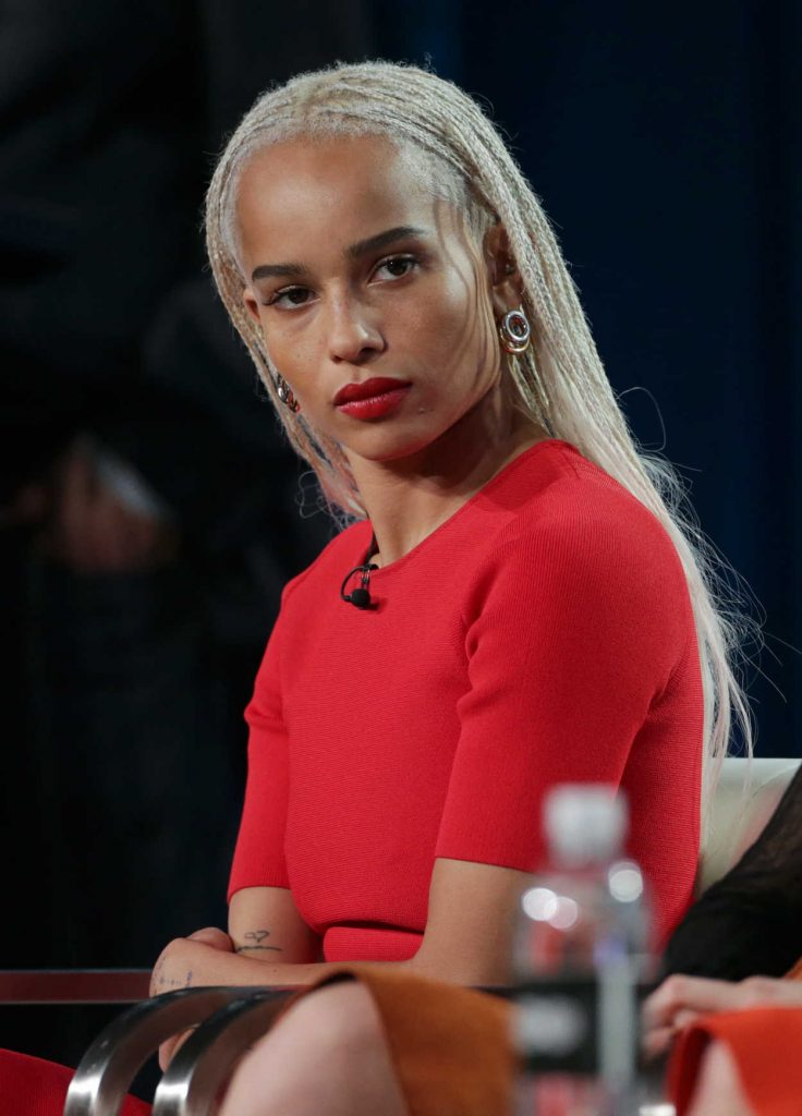 Zoe Kravitz at the HBO's Big Little Lies Panel During TCA Winter Press Tour in Los Angeles 01/14/2017-1