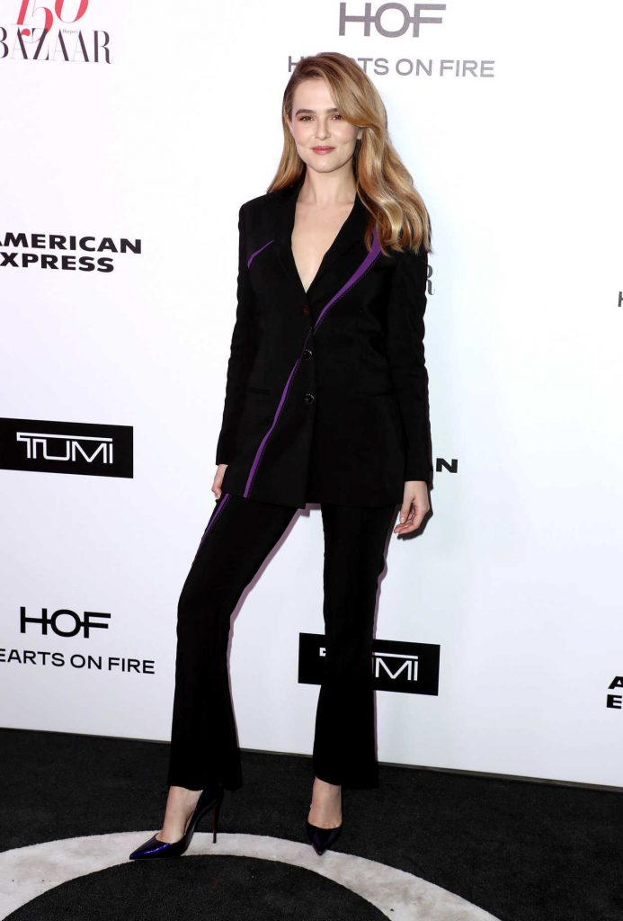 Zoey Deutch at the Harper's BAZAAR Celebration of the 150 Most Fashionable Women in West Hollywood 01/27/2017-2