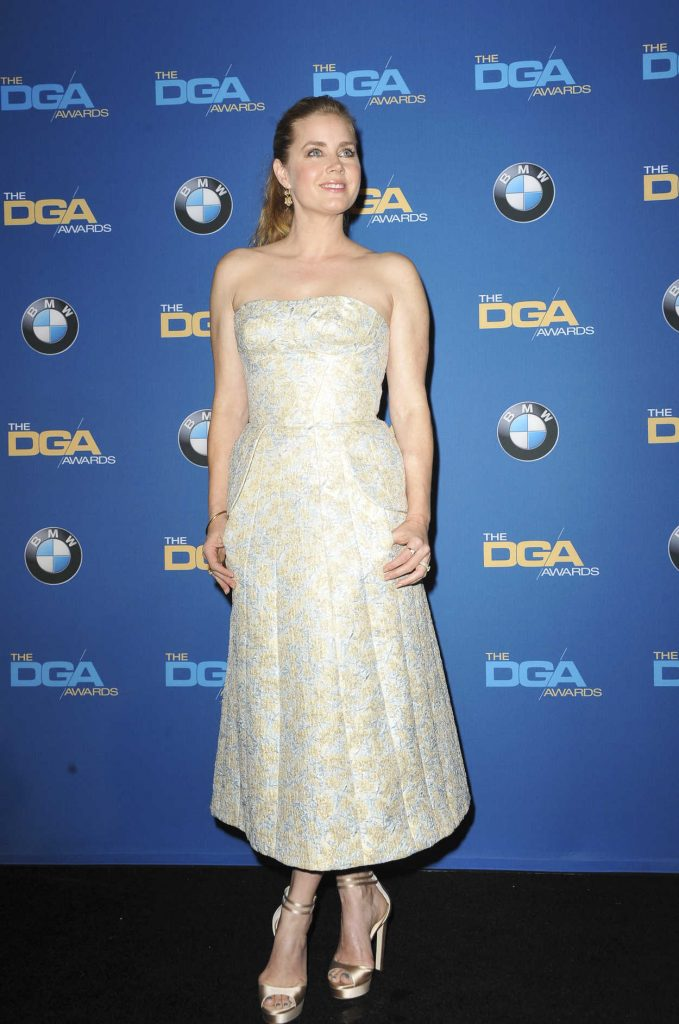 Amy Adams at the 69th Annual Directors Guild Awards in Los Angeles 02/04/2017-1