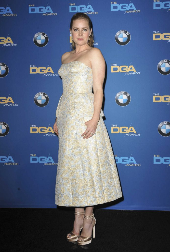 Amy Adams at the 69th Annual Directors Guild Awards in Los Angeles 02/04/2017-3