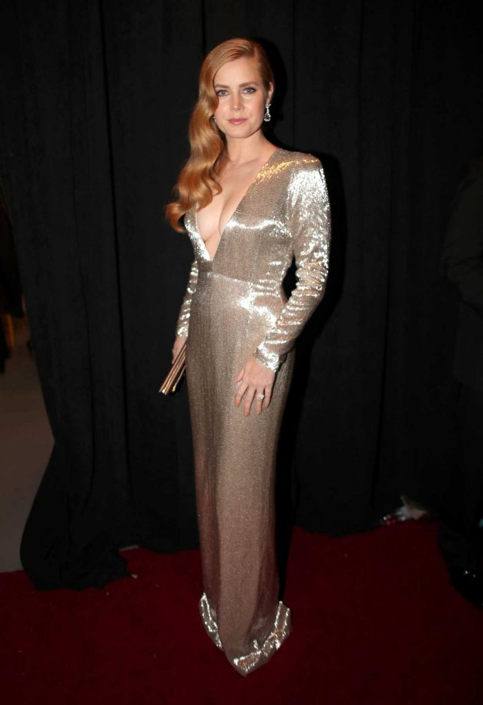 Amy Adams at the the 89th Annual Academy Awards in Hollywood 02/26/2017-1