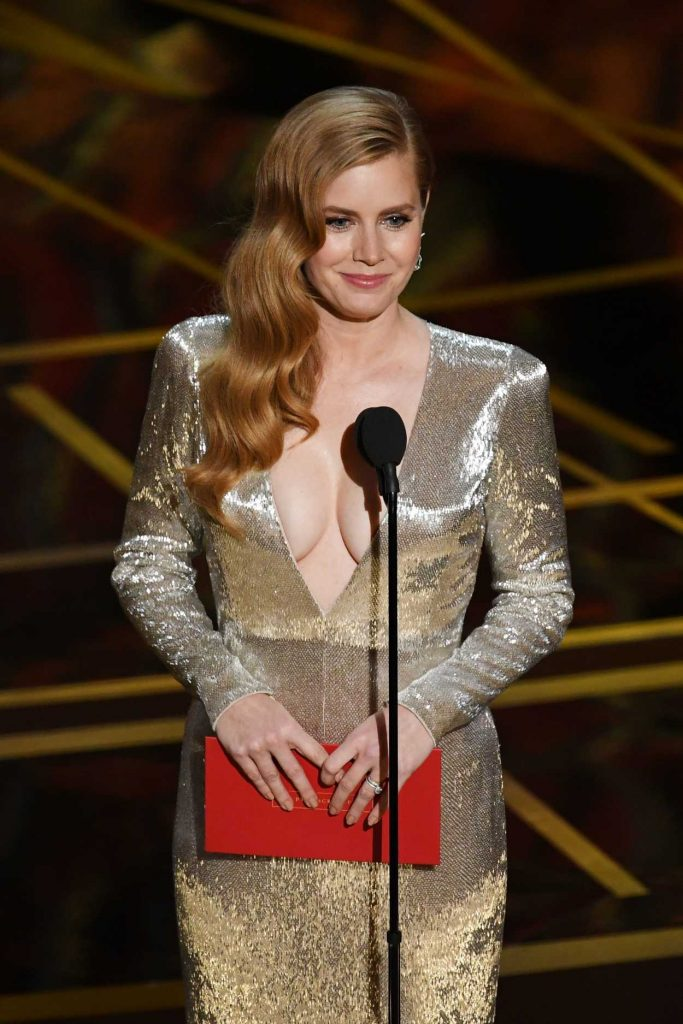 Amy Adams at the the 89th Annual Academy Awards in Hollywood 02/26/2017-2