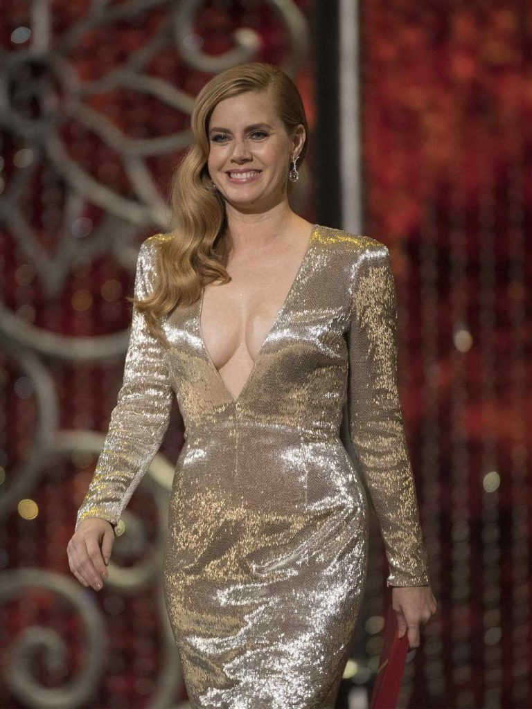 Amy Adams at the the 89th Annual Academy Awards in Hollywood 02/26/2017-4