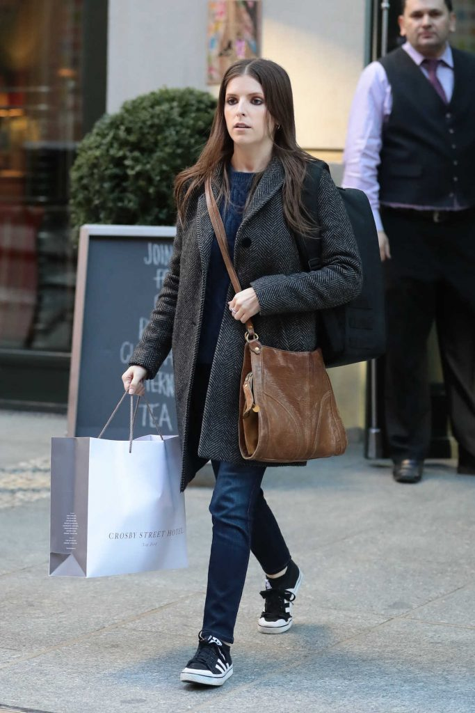 Anna Kendrick Was Seen Out in New York City 02/20/2017-2