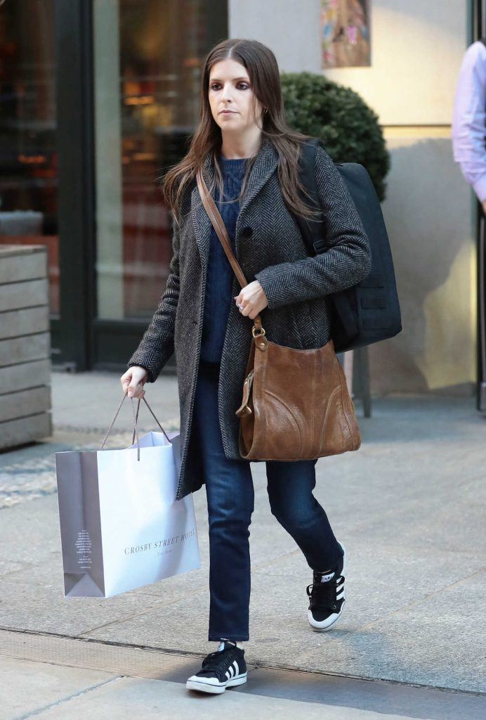 Anna Kendrick Was Seen Out in New York City 02/20/2017-3