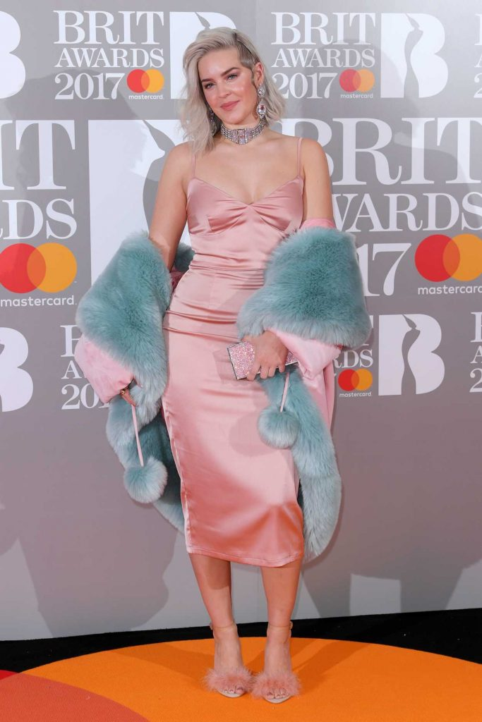 Anne-Marie at the Brit Awards at O2 Arena in London 02/22/2017-1