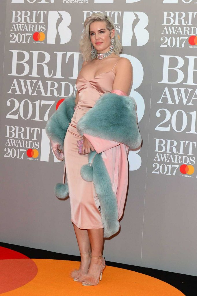Anne-Marie at the Brit Awards at O2 Arena in London 02/22/2017-2