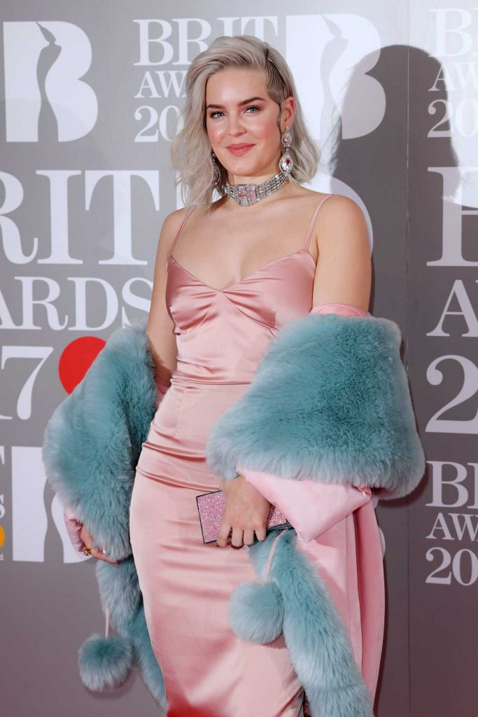Anne-Marie at the Brit Awards at O2 Arena in London 02/22/2017-3