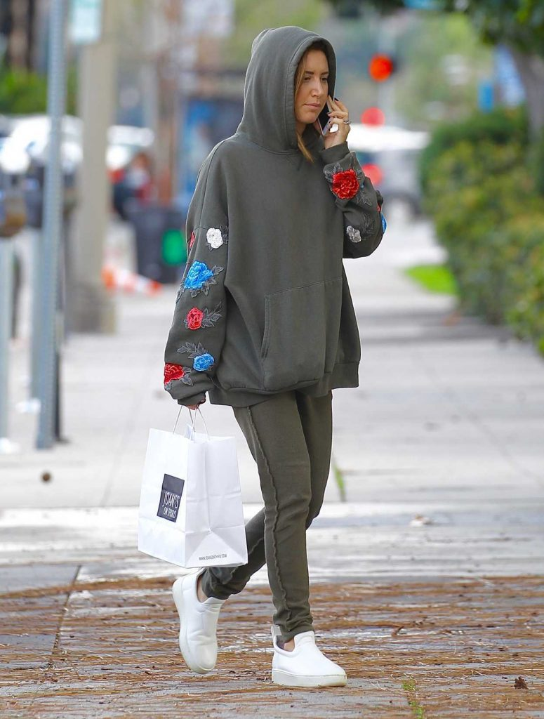 Ashley Tisdale Was Seen Out in Studio City 02/20/2017-1