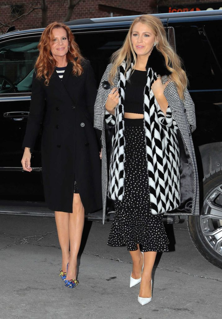 Blake Lively Was Seen Ou in New York City 02/15/2017-1