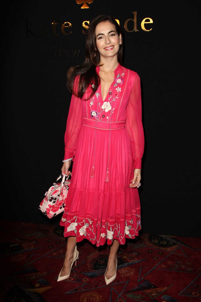 Camilla Belle at the Kate Spade Presentation During the New York Fashion Week 02/10/2017-1