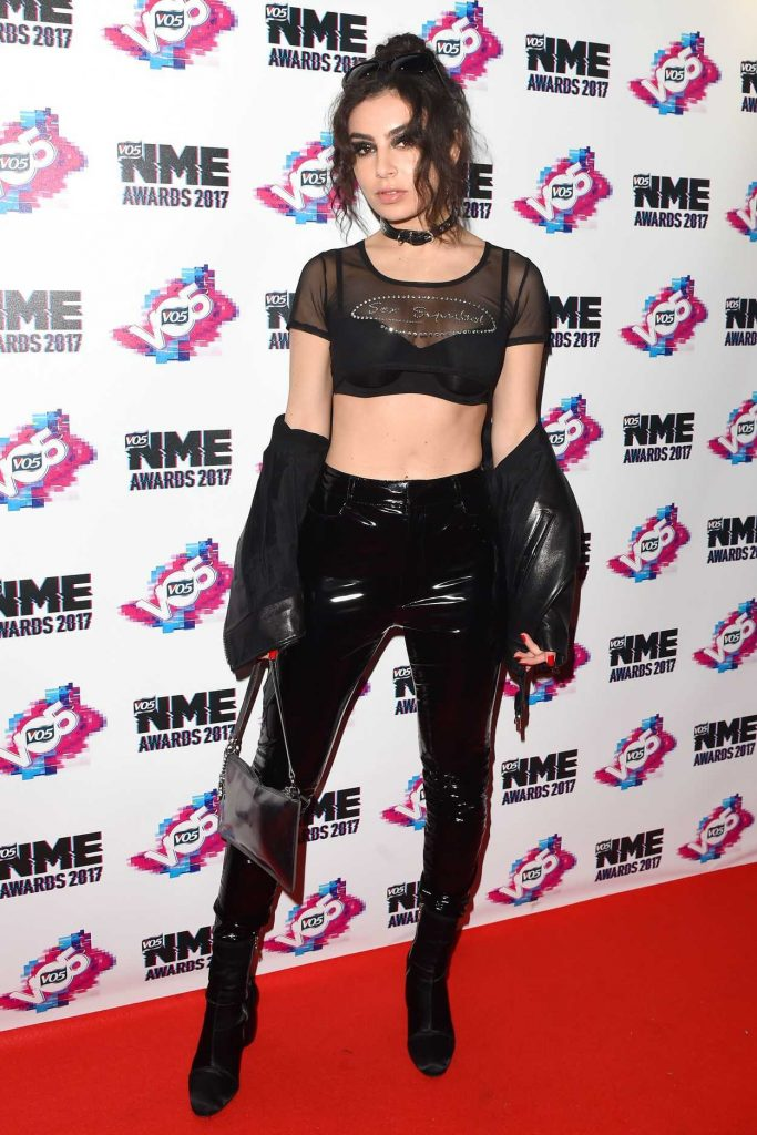 Charli XCX at the NME Awards in London 02/15/2017-1