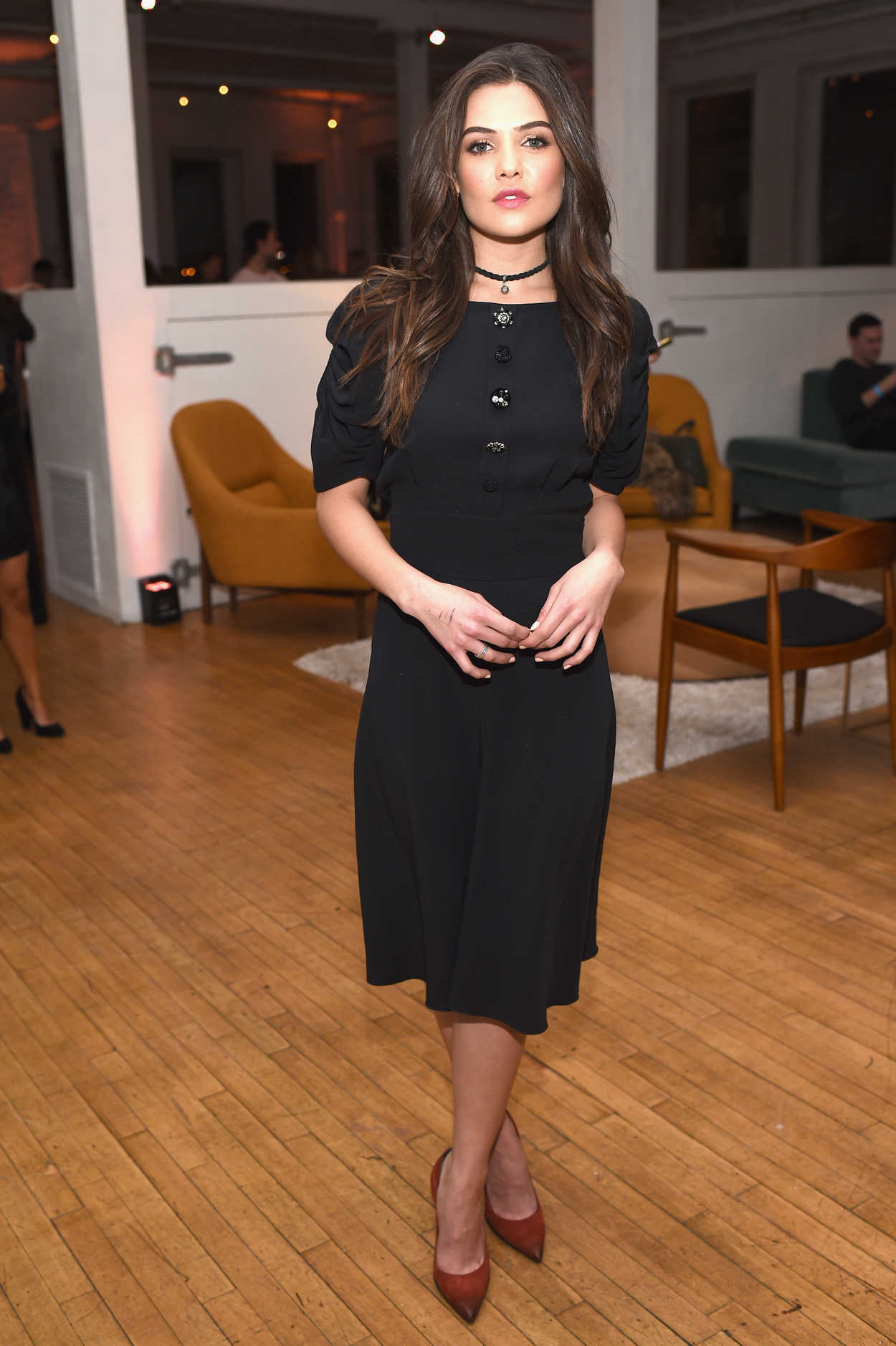 Danielle Campbell At The Marc Jacobs Beauty Celebrates