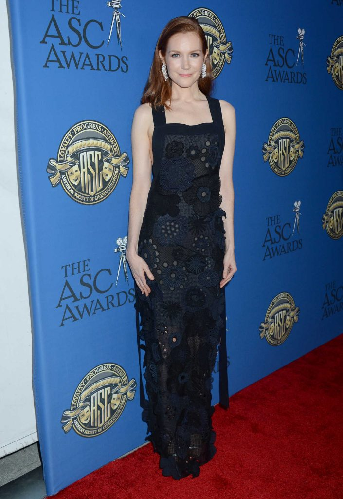 Darby Stanchfield at the 31st Annual ASC Awards for Outstanding Achievement in Cinematography in Hollywood 02/04/2017-1