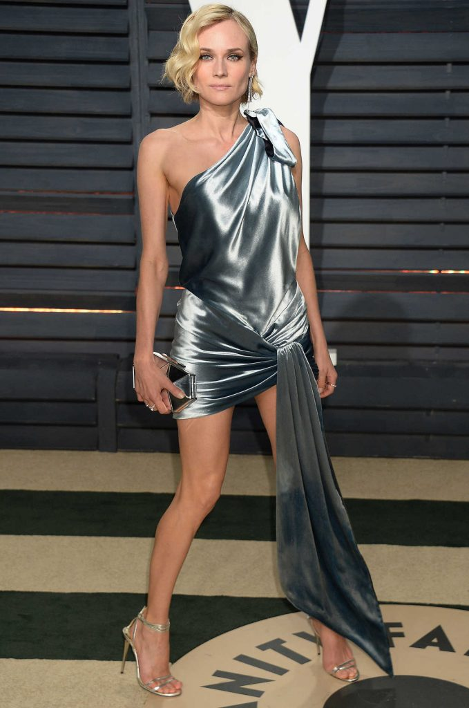 Diane Kruger at the 2017 Vanity Fair Oscar Party Hosted by Graydon Carter in Beverly Hills 02/26/2017-2