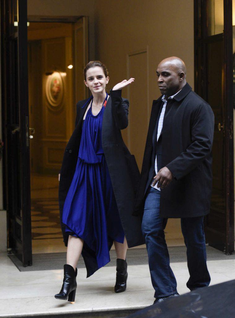 Emma Watson Leaves Her Hotel in Paris 02/20/2017-1