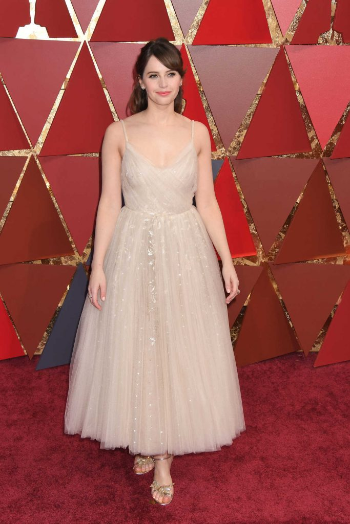 Felicity Jones at the the 89th Annual Academy Awards in Hollywood 02/26/2017-1