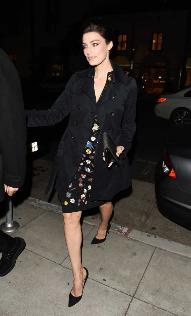 Jessica Pare Leavies the Mad Men Book Party in Beverly Hills 02/23/2017-3